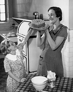 Old fashioned Mom