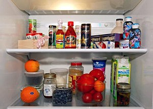 Food in Fridge