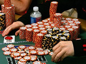 Texas Hold 'em Poker Championship Held In Las Vegas