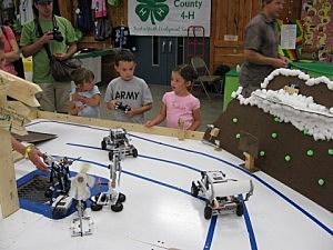 Summer Fair 2010-Robotics Display