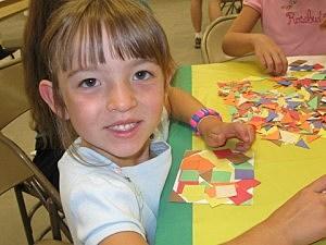 Quilting a postcard-County Fair 2010
