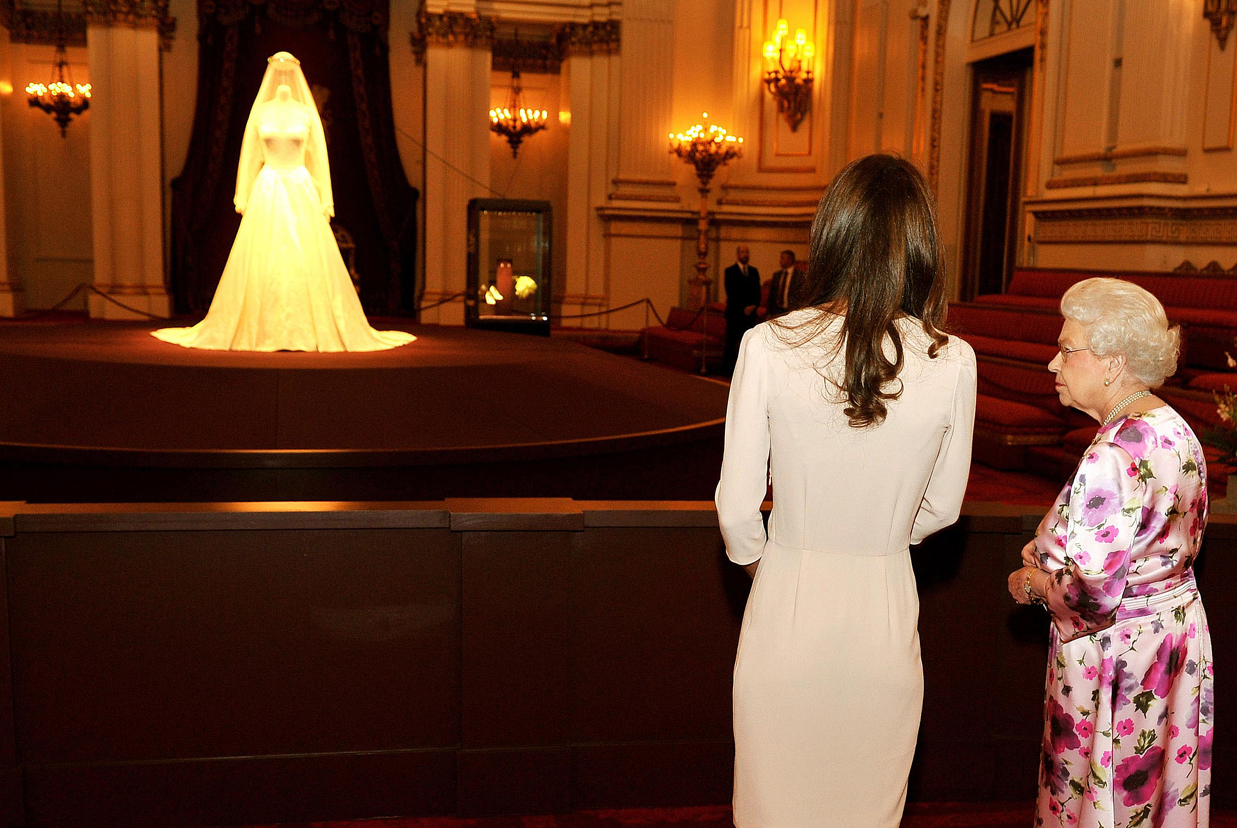 Kate Middleton\'s Wedding Dress On Display