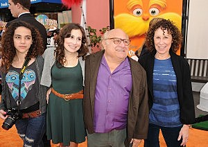 Danny Devito, Rhea Perlman and Family