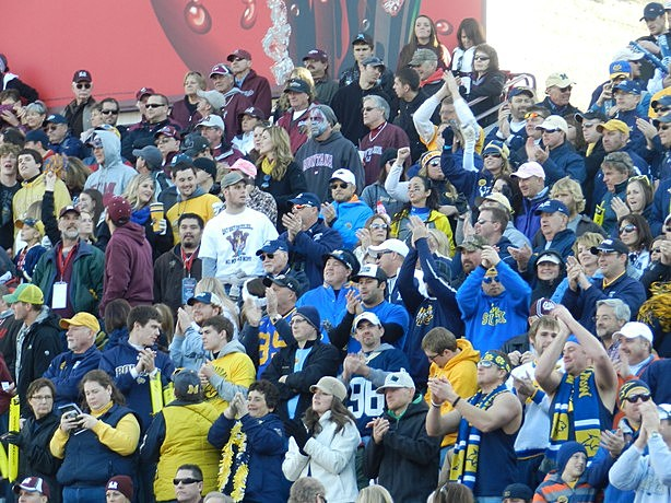 Bobcat Fans at Cat/Griz 2012