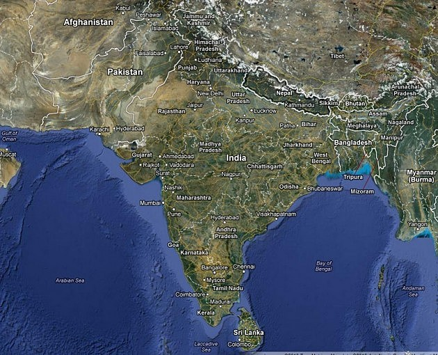 Nepal Google Maps