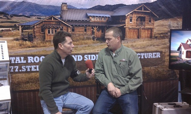 Dave Wooten interview at Bridger Steel booth