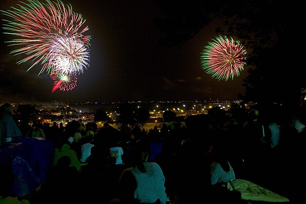 Milwaukee Celebrates 4th With Fireworks On The 3rd