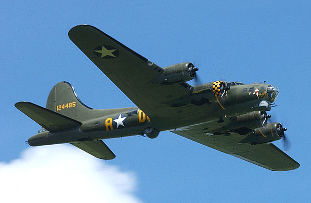 Vintage Wwii Planes On Display In Bozeman