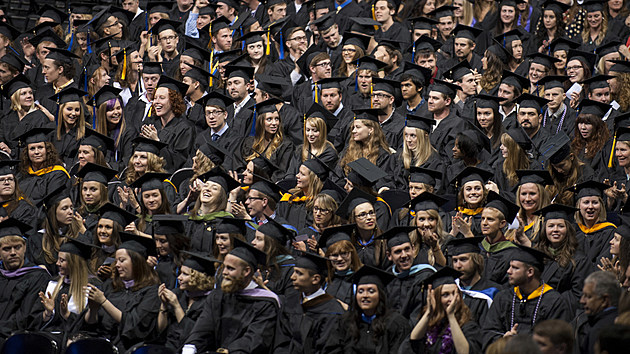 2014 commencement;MSU photo by Kelly Gorham