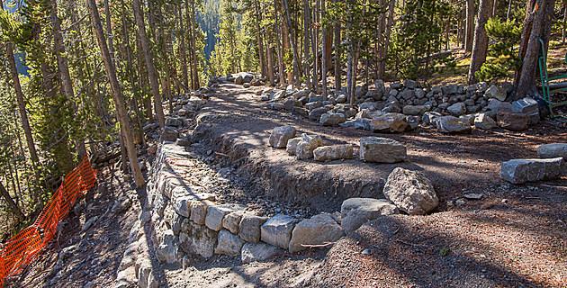 North Rim Trail-Yellowstone
