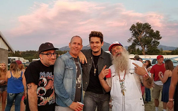 John Mayer Mingles With Fans At Livingston Roundup Rodeo