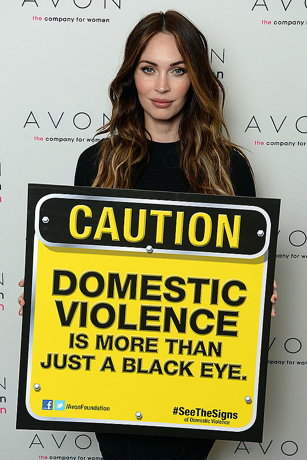 Megan Fox Helps Avon Foundation Launch #SeeTheSigns of Domestic Violence CampaignNovember 25, 2013 ? The Morgan Library & Museum