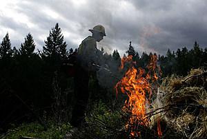 Wildland Firefighting Crews Train In Montana