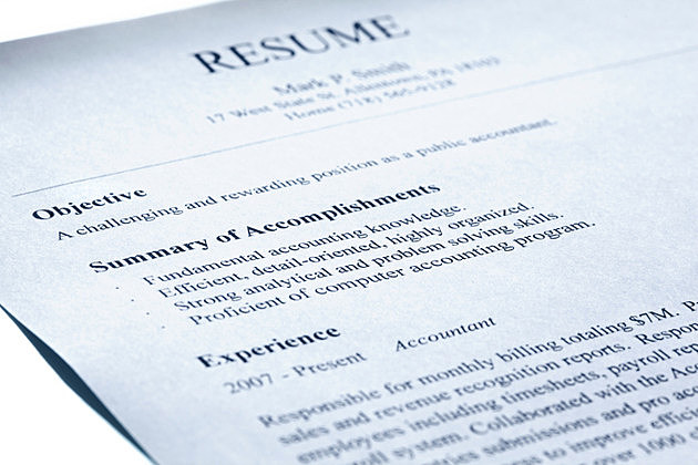 Account manager resume. Blue tint.